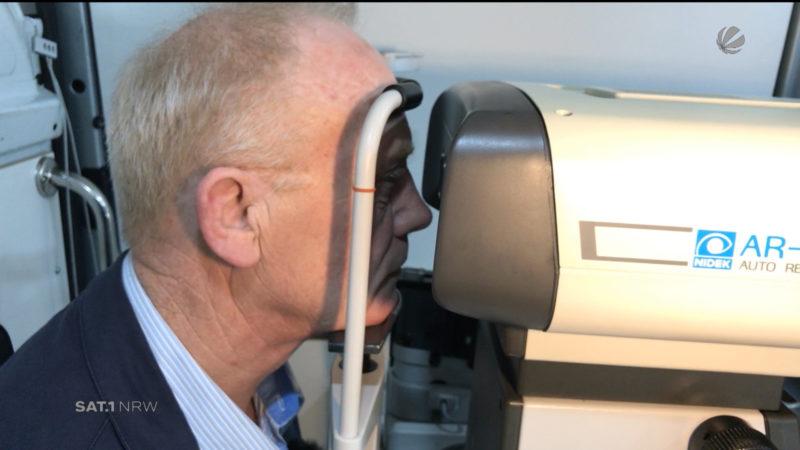 Mobile Augenarztpraxis sucht Helfer (Foto: SAT.1 NRW)