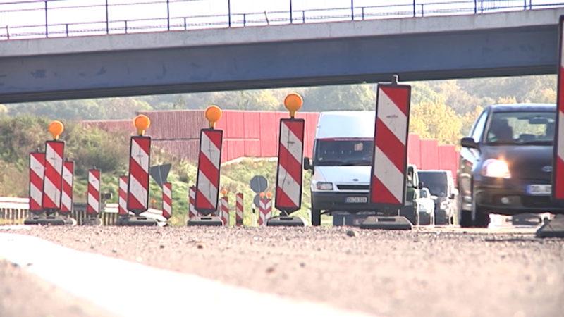 130 neue Baustellen in NRW (Foto: SAT.1 NRW)