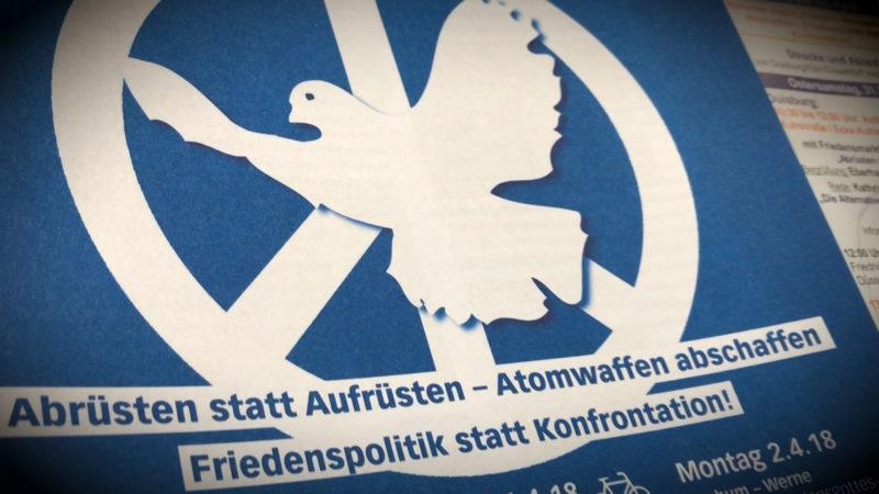 Ostermarsch für Frieden (Foto: SAT.1 NRW)