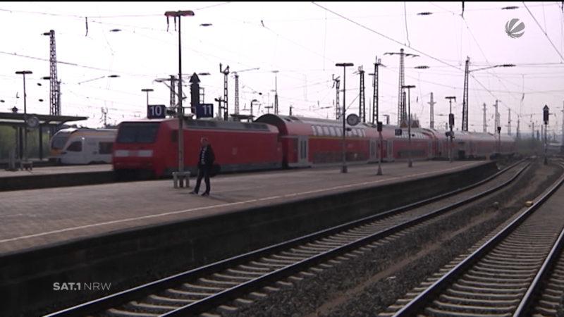 Bahnsperrungen (Foto: SAT.1 NRW)