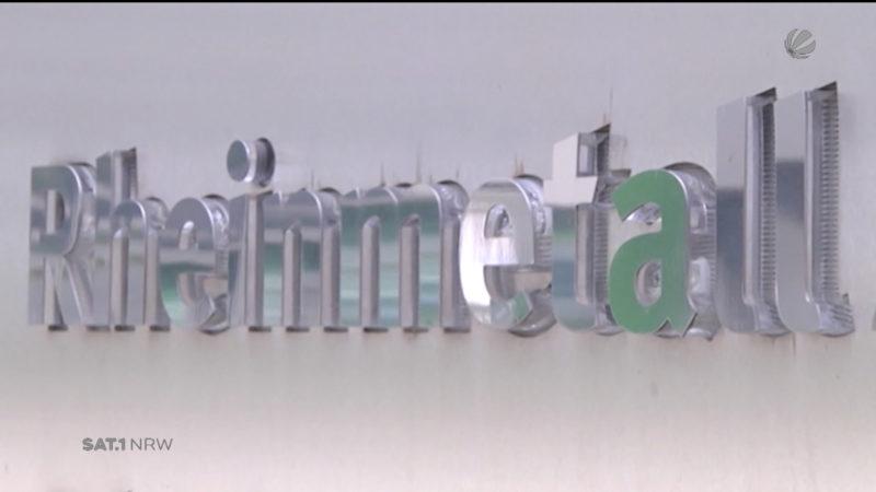 Rheinmetall zieht Bilanz (Foto: SAT.1 NRW)