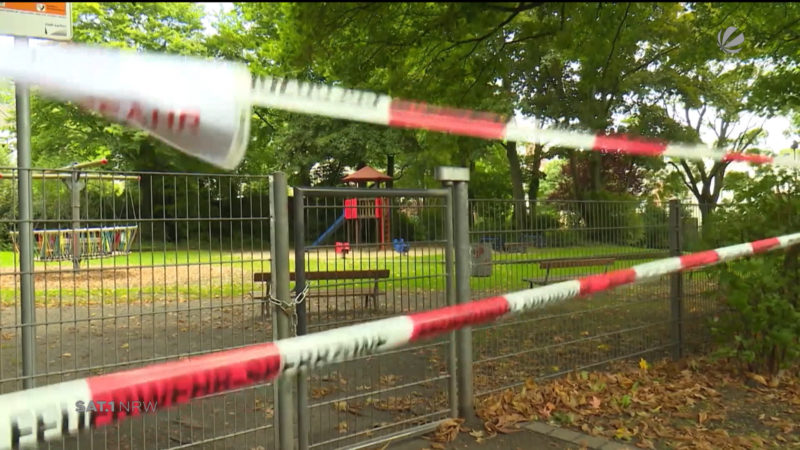 Prozess: Mann streute Rohrreiniger auf Spielplätze (Foto: SAT.1 NRW)