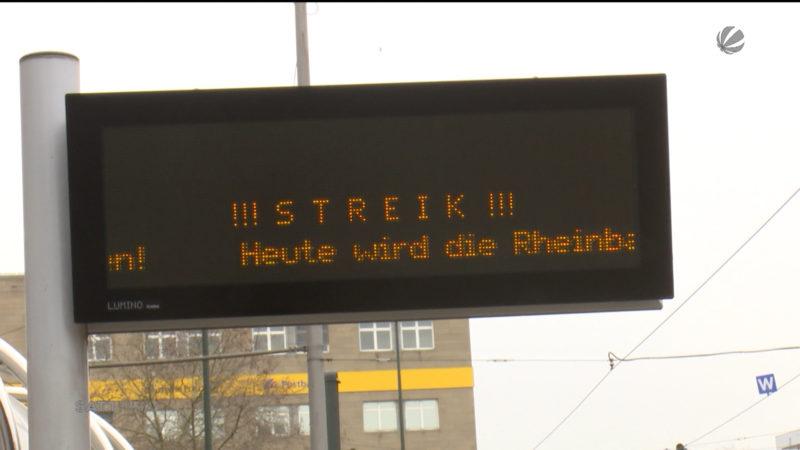 Streik geht weiter (Foto: SAT.1 NRW)