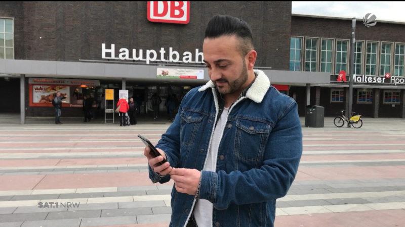 Duisburger erwischt Taschendiebe (Foto: SAT.1 NRW)