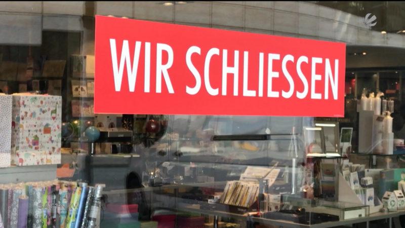 Düsseldorf: Traditionsunternehmen muss schließen (Foto: SAT.1 NRW)