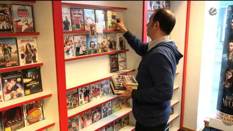 Düsseldorf: Letzte Videothek schließt (Foto: SAT.1 NRW)