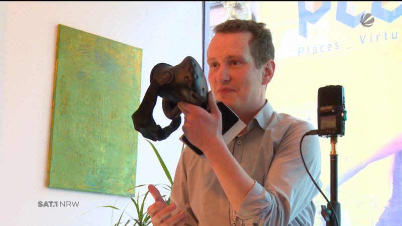 Virtual-Reality-Festival in NRW (Foto: SAT.1 NRW)