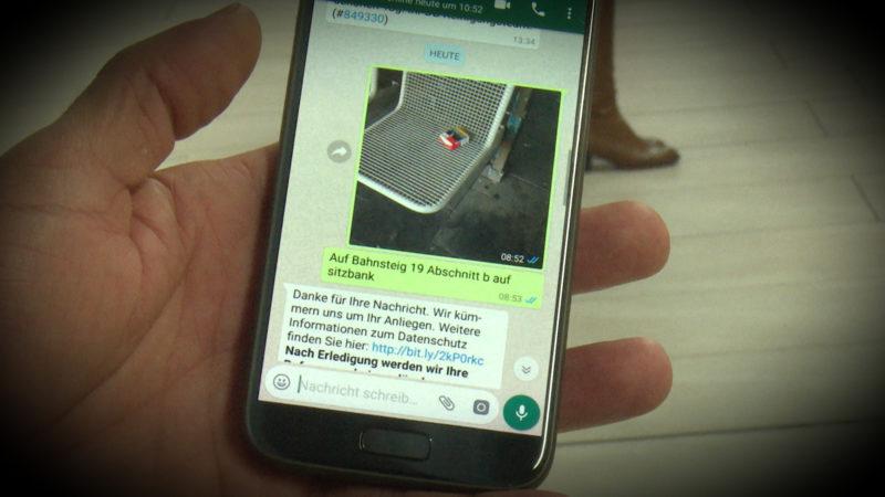 Dreck weg mit WhatsApp (Foto: SAT.1 NRW)