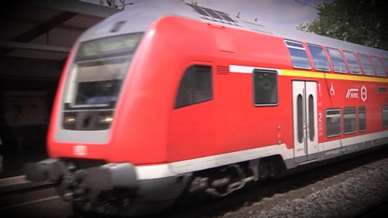 Unfall an Bahnübergang Espelkamp (Foto: SAT.1 NRW)