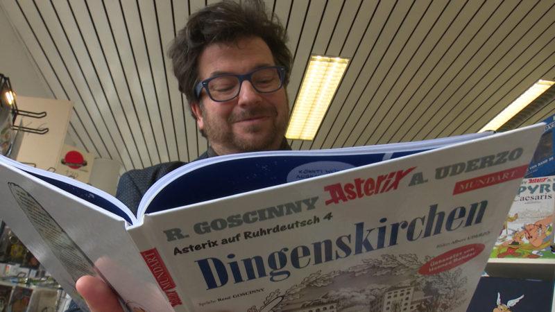 Neuer Asterix Comic (Foto: SAT.1 NRW)