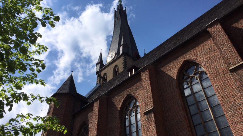 Dreckige Diesel-Kirche (Foto: SAT.1 NRW)