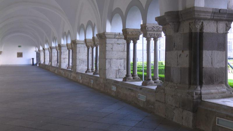 In Wirklichkeit: Abtei Brauweiler in Pulheim (Foto: SAT.1 NRW)