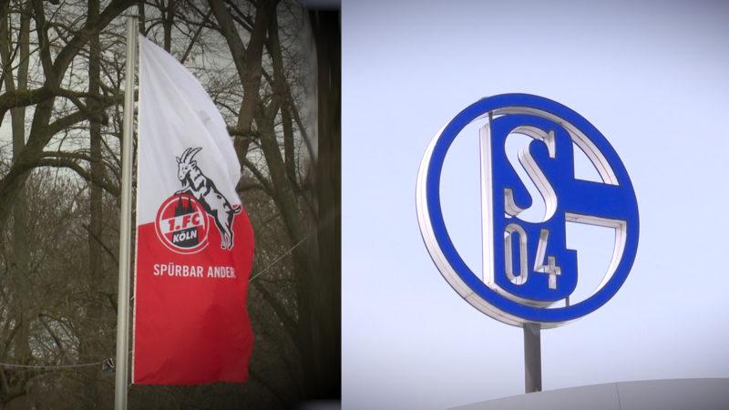 1. FC KOELN VS. SCHALKE 04 (Foto: SAT.1 NRW)