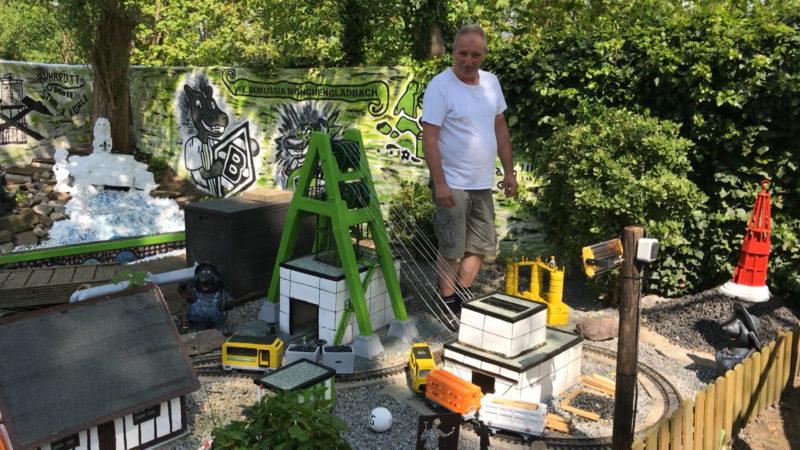 Zeche im eigenen Garten (Foto: SAT.1 NRW)