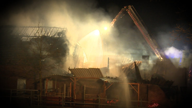 Blitz und Feuer (Foto: SAT.1 NRW)