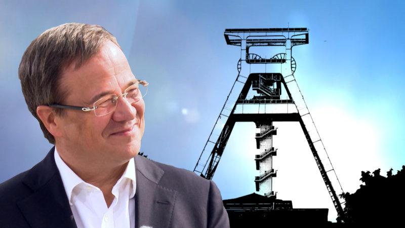 Armin Laschet zum Kohleausstieg (Foto: SAT.1 NRW)