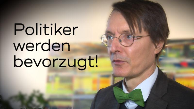 Sonderbehandlung für Politiker (Foto: SAT.1 NRW)