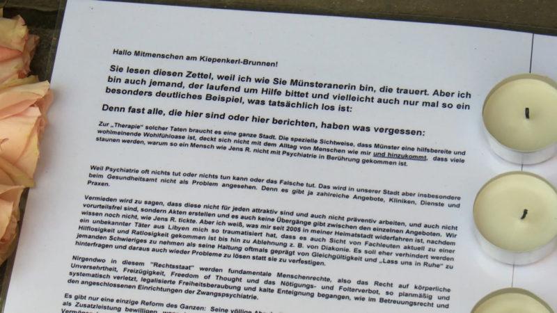 Münster: Hilferuf (Foto: SAT.1 NRW)