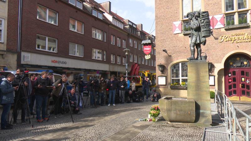 Münster unter Schock (Foto: SAT.1 NRW)