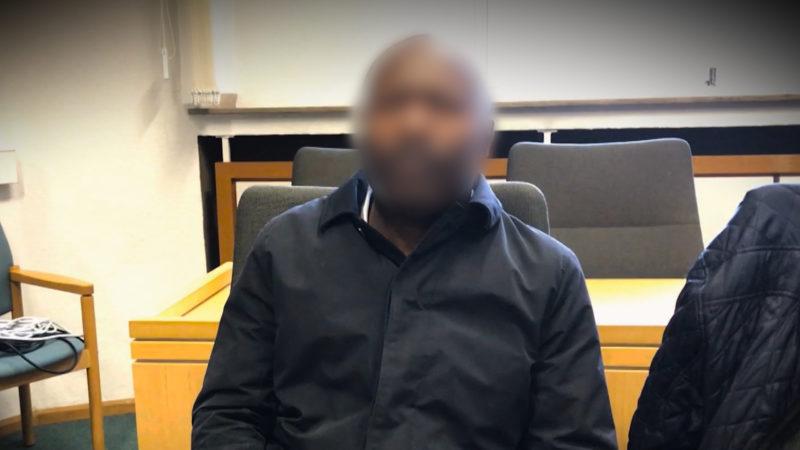 Unbekannter Angeklagter (Foto: SAT.1 NRW)