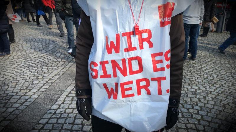 Verdi-Streiks legen Kliniken lahm (Foto: SAT.1 NRW)