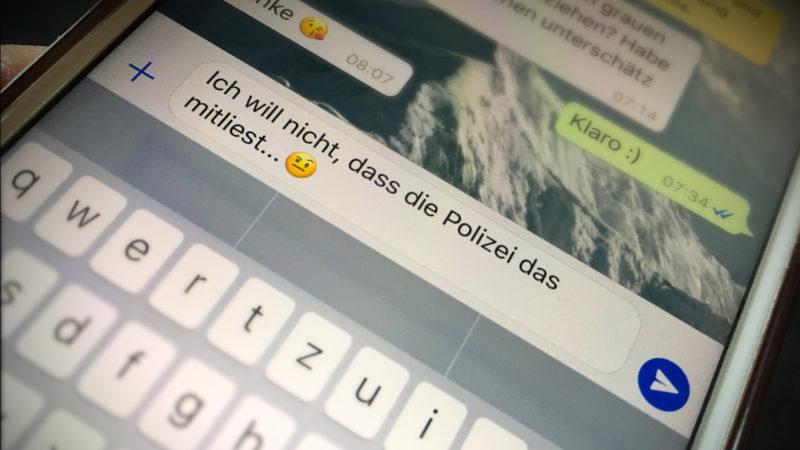 Wie weit darf die Polizei gehen? (Foto: SAT.1 NRW)