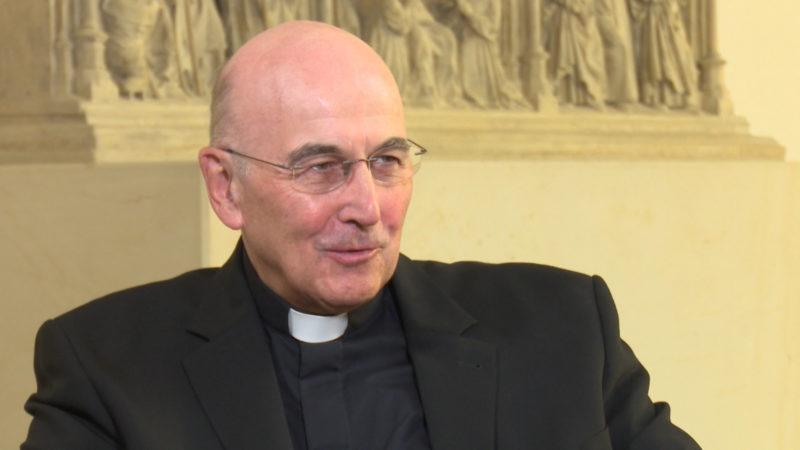 Interview mit Bischof Felix Genn (Foto: SAT.1 NRW)