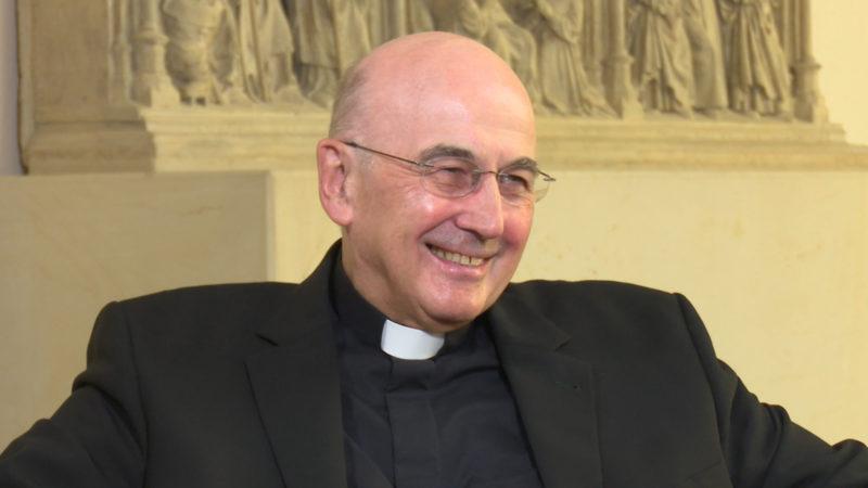 Bischof im Interview - volle Länge (Foto: SAT.1 NRW)
