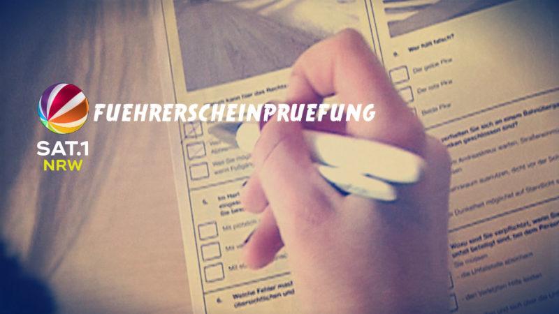 TEST: Würden Sie die Führerscheinprüfung noch bestehen? (Foto: SAT.1 NRW)