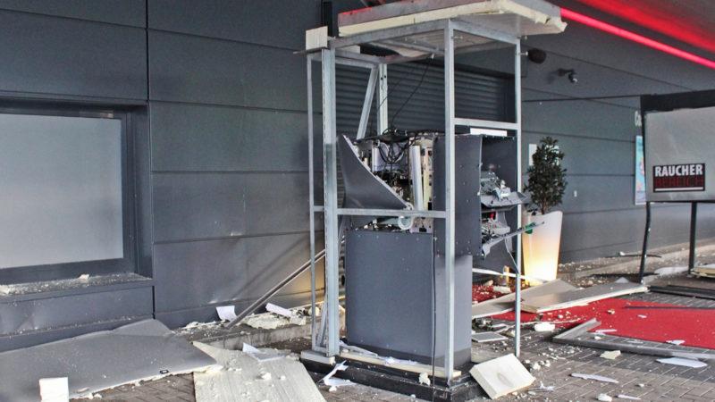 Geldautomat-Sprengung (Foto: SAT.1 NRW)