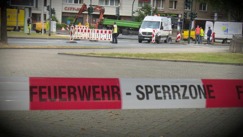 Gasleck in Essen (Foto: SAT.1 NRW)