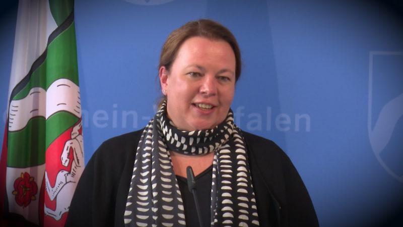 Neue Ministerin für NRW (Foto: SAT.1 NRW)