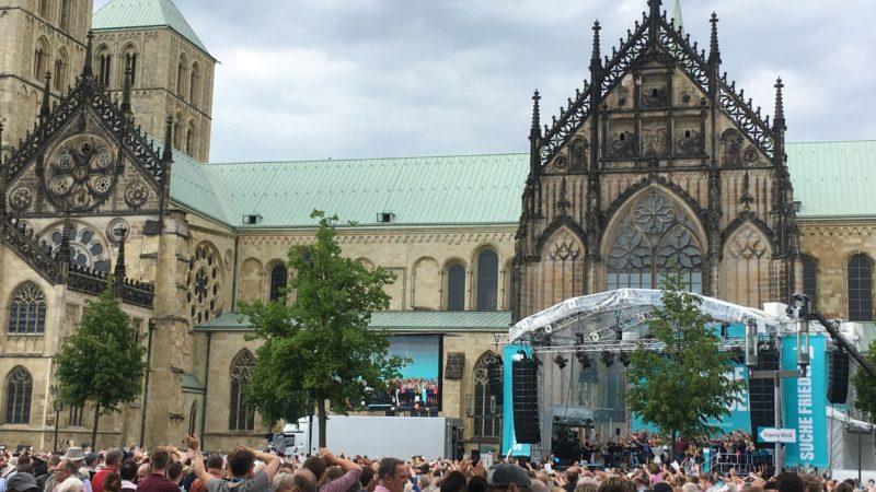 Katholikentag LIVE (Foto: SAT.1 NRW)