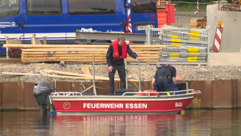 Bauarbeiter vermisst (Foto: SAT.1 NRW)