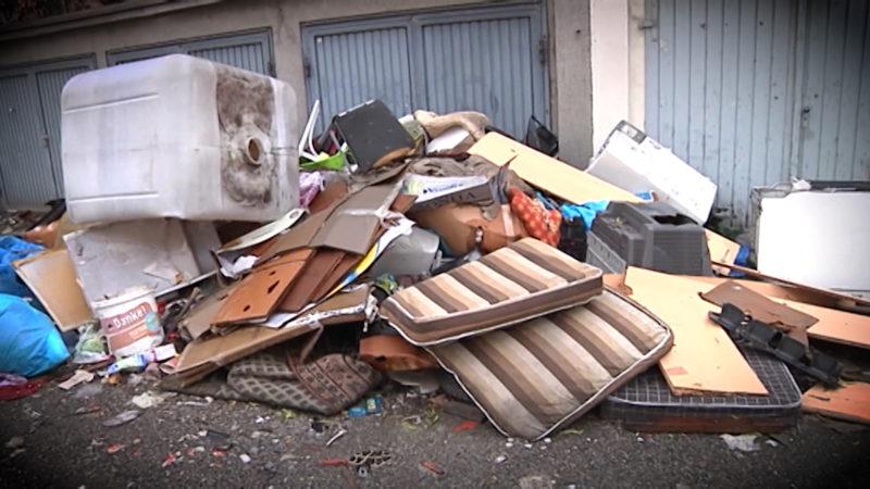 Überall Müll (Foto: SAT.1 NRW)