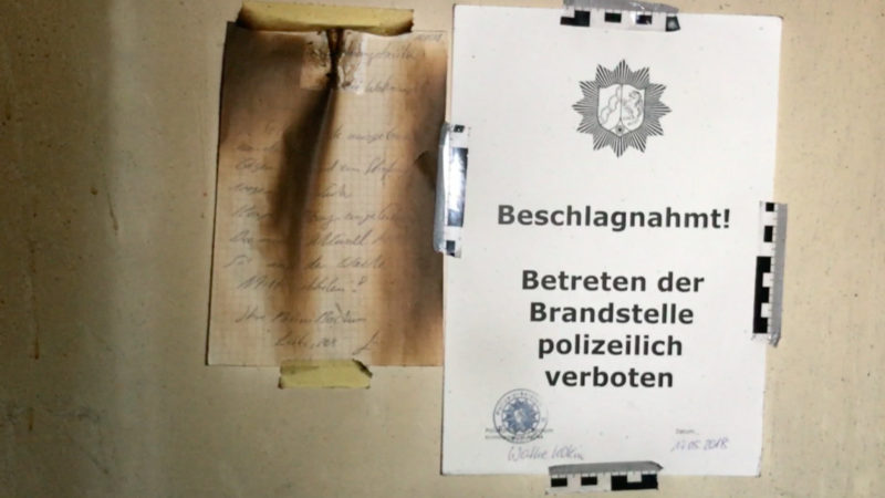 Bochumer Feuerteufel geschnappt (Foto: SAT.1 NRW)