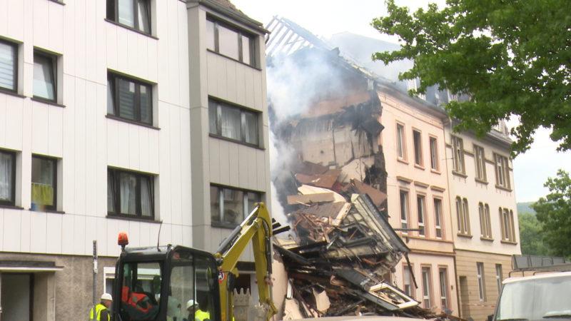 Hausexplosion in Wuppertal (Foto: SAT.1 NRW)