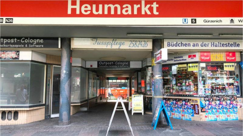 Ladenbesitzern in Köln gekündigt (Foto: SAT.1 NRW)