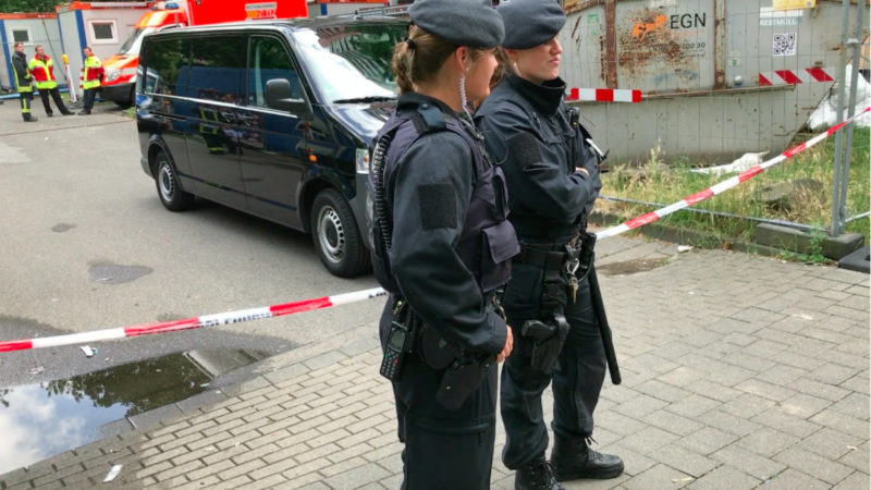 Erneute Razzia in Köln (Foto: SAT.1 NRW)