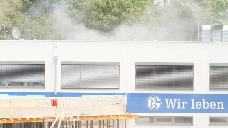 Brand bei Schalke (Foto: SAT.1 NRW)