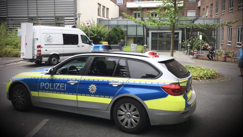 Schießerei im Krankenhaus (Foto: SAT.1 NRW)