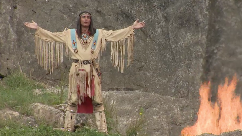 Winnetou in Elspe (Foto: SAT.1 NRW)