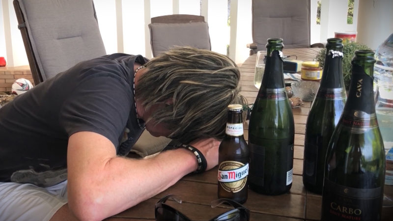 Der Frust muss raus - So trauert NRW über das WM-Aus (Foto: SAT.1 NRW)