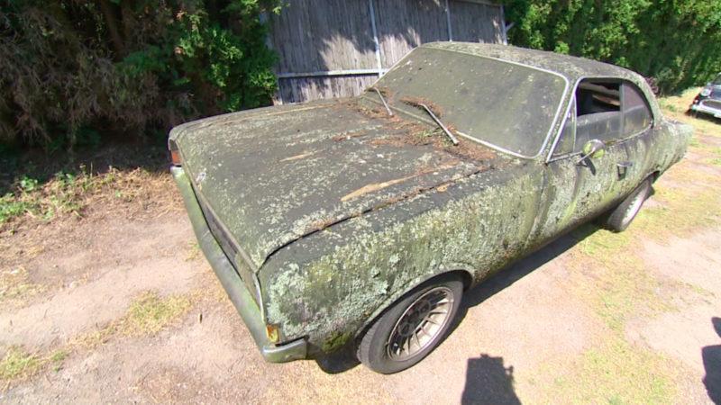 Auto nach 25 Jahren gefunden (Foto: SAT.1 NRW)