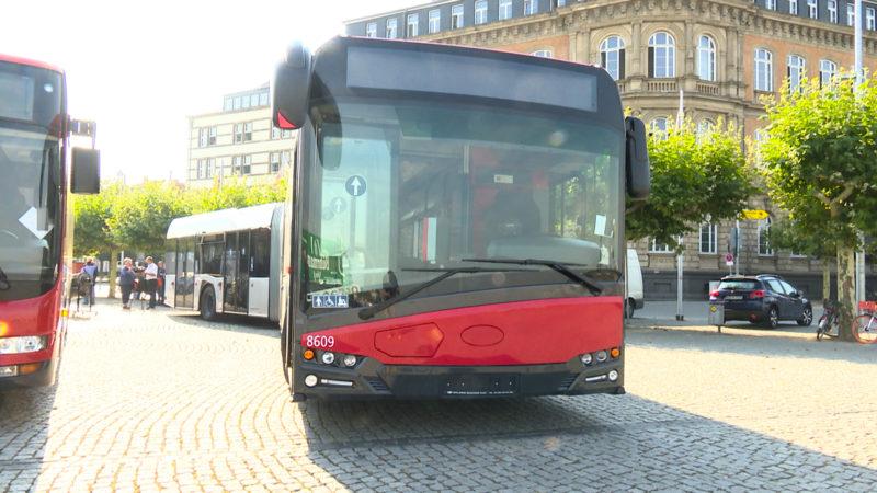 Deutschlands umweltfreundlichster Bus (Foto: SAT.1 NRW)