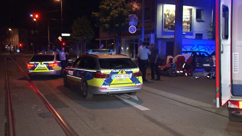 War es versuchter Ehrenmord? Polizei nimmt in Essen vier Männer fest (Foto: SAT.1 NRW)
