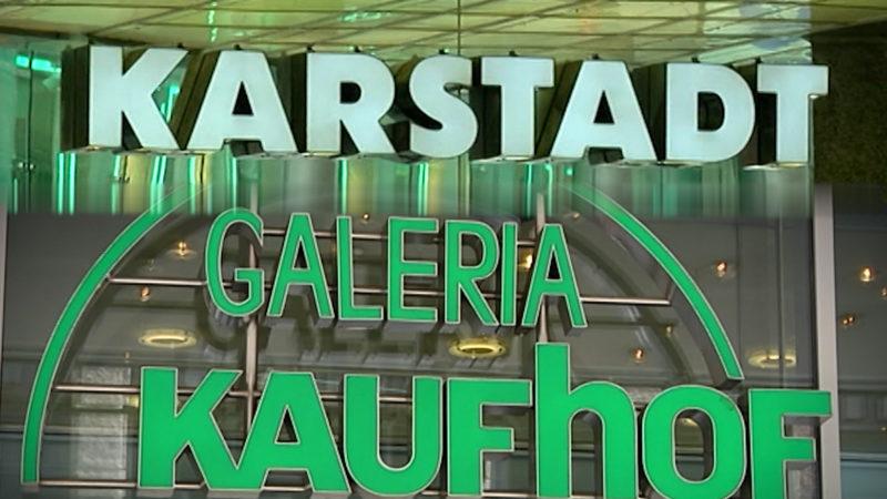 GALERIA KAUFHOF UND KARSTADT FUSIONIEREN (Foto: SAT.1 NRW)