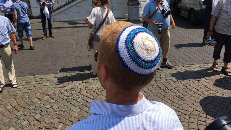 Tag der Kippa in Bonn (Foto: SAT.1 NRW)