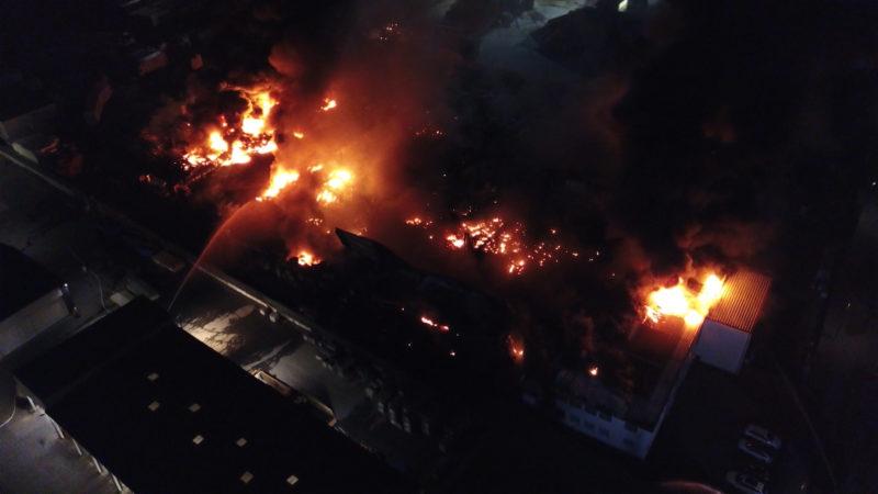 Lippstadt: Brandursache klar (Foto: SAT.1 NRW)