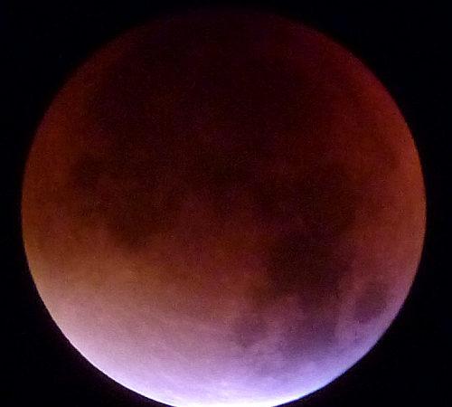 Längste Mondfinsternis erwartet (Foto: SAT.1 NRW)